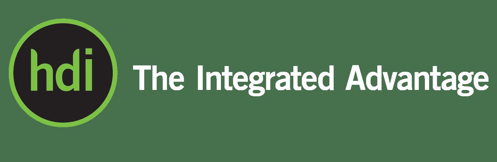 HDI log and slogan
